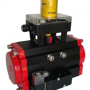 Posicionador eletro pneumático rotativo