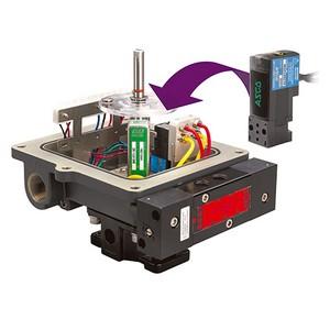 Sensor de posição linear potenciométrico
