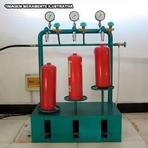 Máquinas para teste hidrostático para tubulações