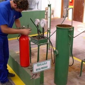 Bomba de teste hidrostático manual