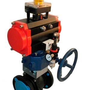Válvula de controle pneumática